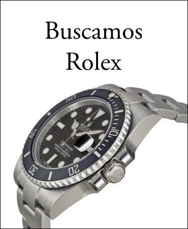 Compramos relojes Rolex