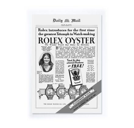 Primer reloj Rolex de pulsera