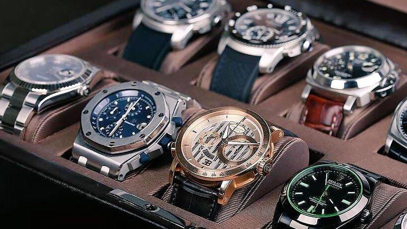 Las mejores marcas de relojes lujo de 2018 vender for Celebrity watches male 2017