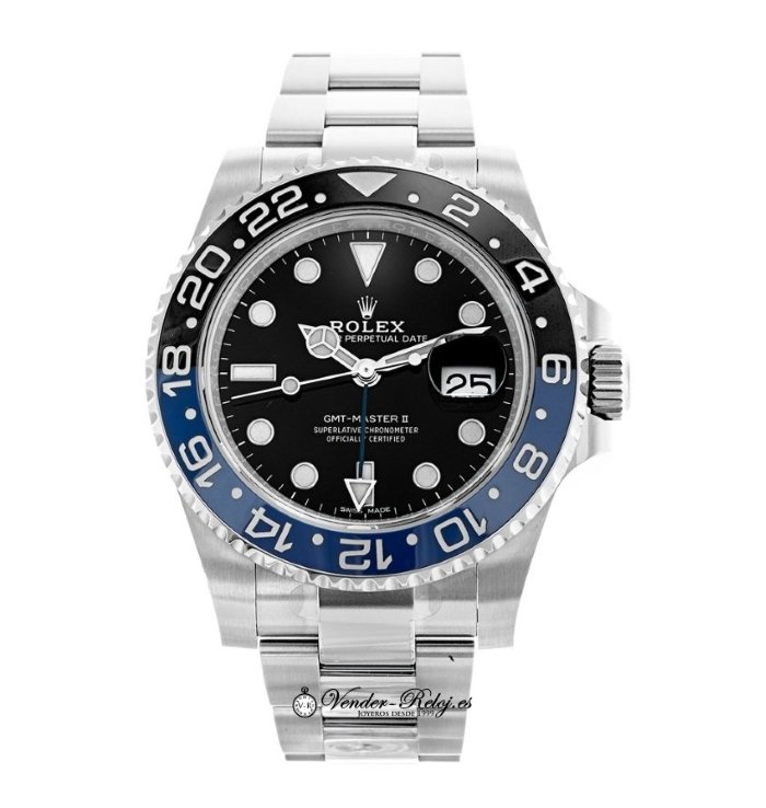 Rolex Batman GMT Master II 116710BLNR
